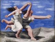 mujeres-corriendo-en-la-playa-picasso